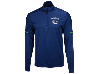 Vancouver Canucks adidas NHL Men's Authentic Pro Quarter Zip Pullover