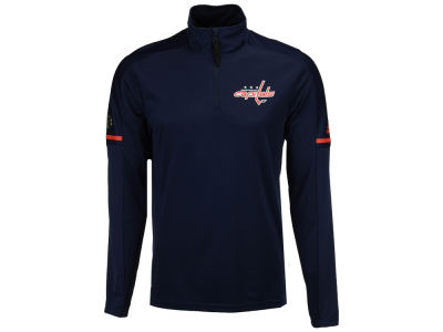 Washington Capitals adidas NHL Men's Authentic Pro Quarter Zip Pullover