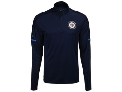 Winnipeg Jets adidas NHL Men's Authentic Pro Quarter Zip Pullover