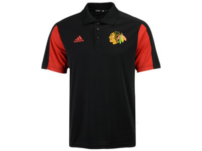 Chicago Blackhawks adidas NHL Men's Authentic Pro Game Day Polo