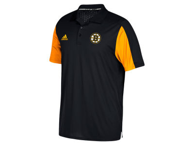 Boston Bruins adidas NHL Men's Authentic Pro Game Day Polo