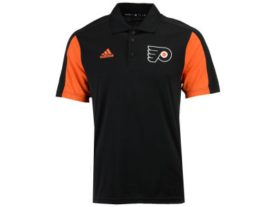Philadelphia Flyers adidas NHL Men's Authentic Pro Game Day Polo
