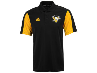 Pittsburgh Penguins adidas NHL Men's Authentic Pro Game Day Polo