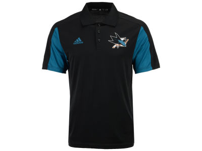 San Jose Sharks adidas NHL Men's Authentic Pro Game Day Polo