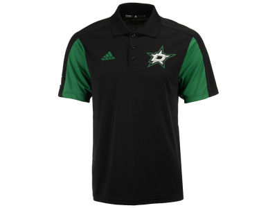 Dallas Stars adidas NHL Men's Authentic Pro Game Day Polo