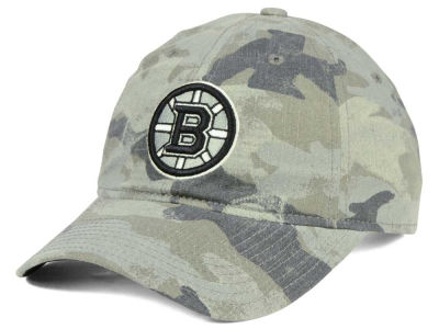 Boston Bruins adidas NHL Camo Slouch Cap