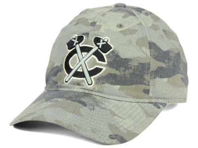 Chicago Blackhawks adidas NHL Camo Slouch Cap