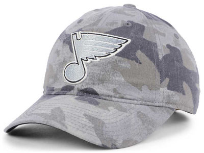 St. Louis Blues adidas NHL Camo Slouch Cap
