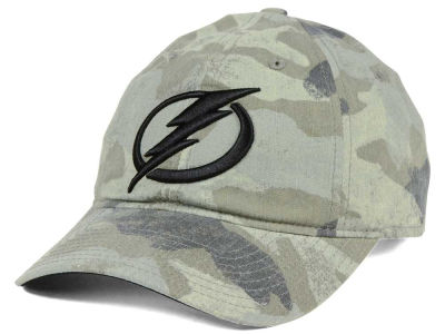 Tampa Bay Lightning adidas NHL Camo Slouch Cap
