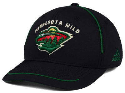 Minnesota Wild adidas NHL Piper Adjustable Cap