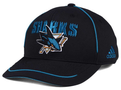 San Jose Sharks adidas NHL Piper Adjustable Cap
