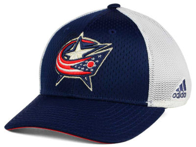 Columbus Blue Jackets adidas NHL Mesh Flex Cap
