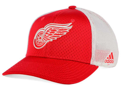 Detroit Red Wings adidas NHL Mesh Flex Cap