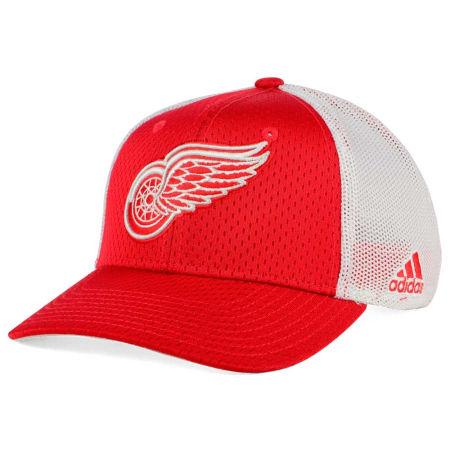 Detroit Red Wings Adidas NHL Mesh Flex Cap