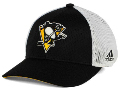Pittsburgh Penguins adidas NHL Mesh Flex Cap