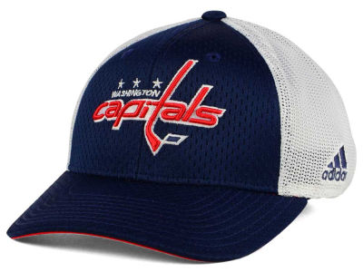 Washington Capitals adidas NHL Mesh Flex Cap