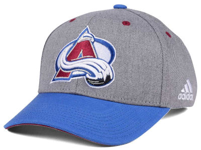Colorado Avalanche adidas NHL 2Tone Adjustable Cap