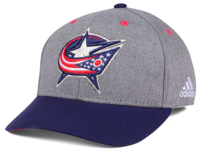 Columbus Blue Jackets adidas NHL 2Tone Adjustable Cap