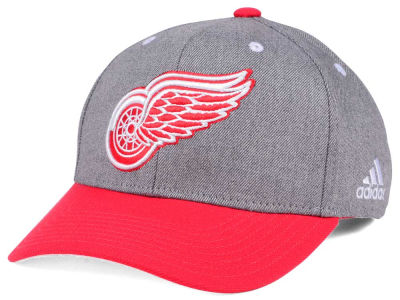 Detroit Red Wings adidas NHL 2Tone Adjustable Cap