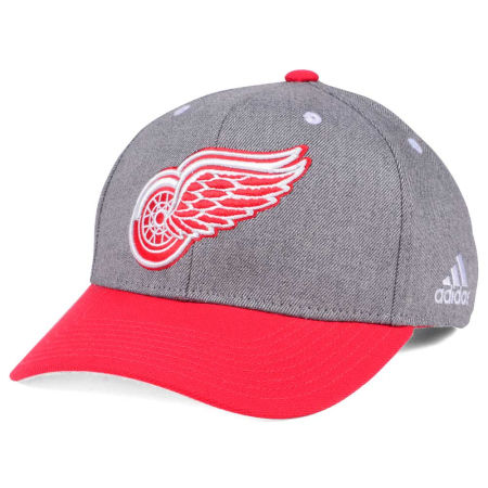 Detroit Red Wings Adidas NHL 2Tone Adjustable Cap