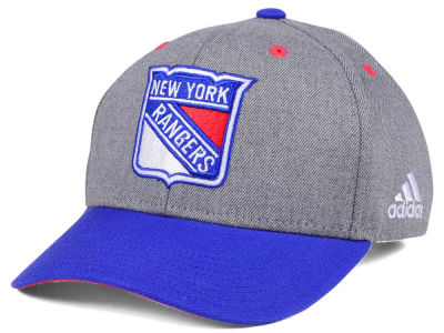 New York Rangers adidas NHL 2Tone Adjustable Cap