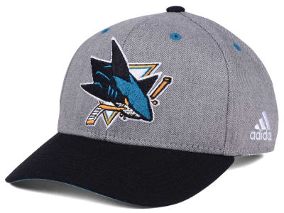 San Jose Sharks adidas NHL 2Tone Adjustable Cap