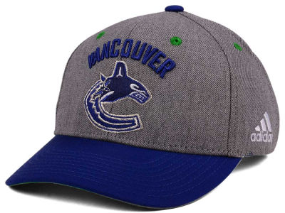 Vancouver Canucks adidas NHL 2Tone Adjustable Cap