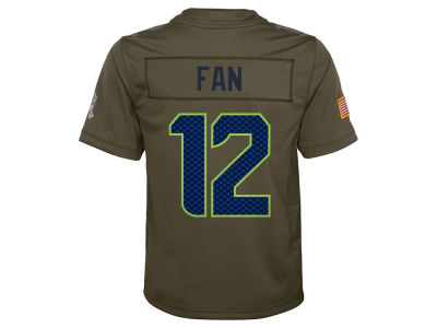 Seattle Seahawks Nike NFL Youth Salute to Service Jersey