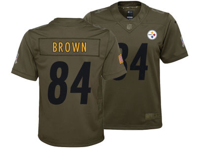 Pittsburgh Steelers Antonio Brown Nike NFL Youth Salute to Service Jersey