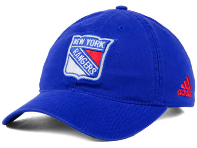 New York Rangers adidas NHL Core Slouch Cap