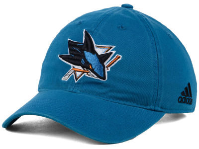 San Jose Sharks adidas NHL Core Slouch Cap