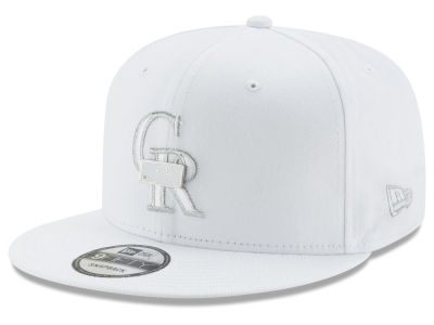 Colorado Rockies New Era MLB Pure Money 9FIFTY Snapback Cap