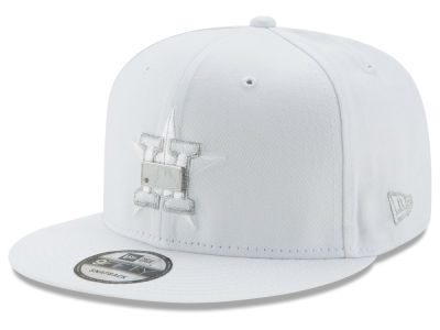 Houston Astros New Era MLB Pure Money 9FIFTY Snapback Cap