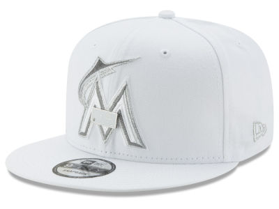 Miami Marlins New Era MLB Pure Money 9FIFTY Snapback Cap