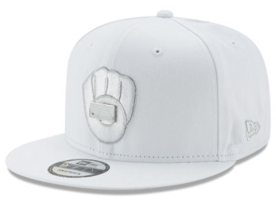 Milwaukee Brewers New Era MLB Pure Money 9FIFTY Snapback Cap