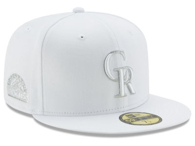 Colorado Rockies New Era MLB Pure Money 59FIFTY Cap