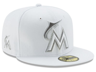 Miami Marlins New Era MLB Pure Money 59FIFTY Cap