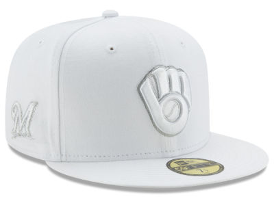 Milwaukee Brewers New Era MLB Pure Money 59FIFTY Cap