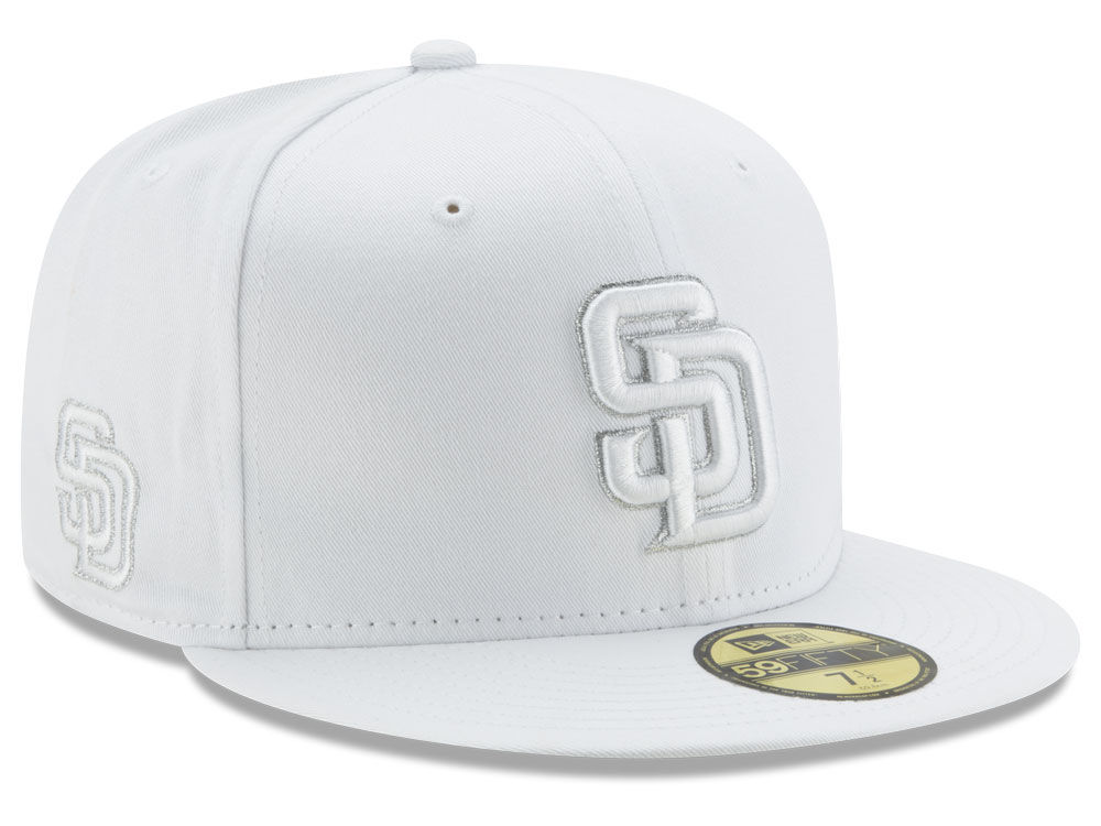 brand new a8491 bc8bd ... where to buy san diego padres new era mlb pure money 59fifty cap a073b  3317c