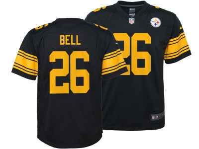 Pittsburgh Steelers Le'Veon Bell Nike NFL Youth Color Rush Jersey