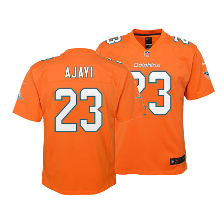 Miami Dolphins Jay Ajayi Nike NFL Youth Color Rush Jersey