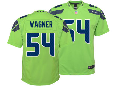 Seattle Seahawks Bobby Wagner Nike NFL Youth Color Rush Jersey