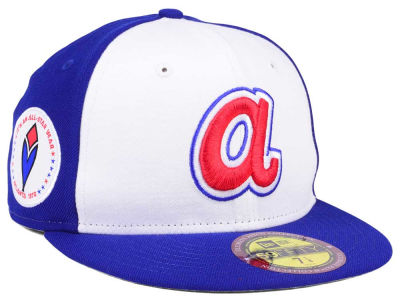 Atlanta Braves New Era MLB Ultimate Patch All Star Collection 59FIFTY Cap