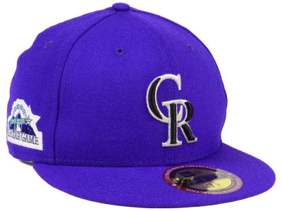 Colorado Rockies New Era MLB Ultimate Patch All Star Collection 59FIFTY Cap