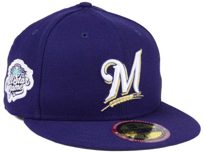 Milwaukee Brewers New Era MLB Ultimate Patch All Star Collection 59FIFTY Cap