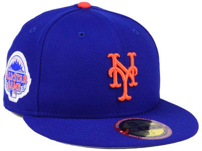New York Mets New Era MLB Ultimate Patch All Star Collection 59FIFTY Cap