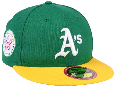 Oakland Athletics New Era MLB Ultimate Patch All Star Collection 59FIFTY Cap