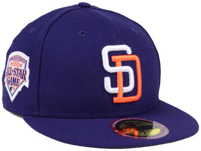 San Diego Padres New Era MLB Ultimate Patch All Star Collection 59FIFTY Cap