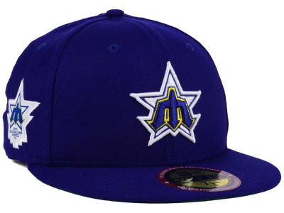 Seattle Mariners New Era MLB Ultimate Patch All Star Collection 59FIFTY Cap
