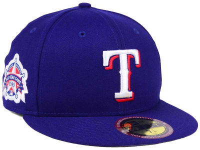 Texas Rangers New Era MLB Ultimate Patch All Star Collection 59FIFTY Cap